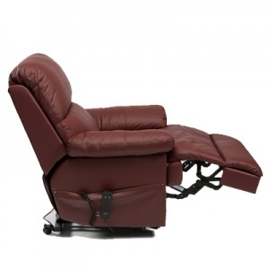 Lars Luxury Leather Wall Hugger Riser Recliner