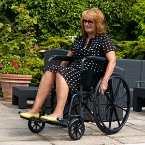 CareCo Viper Self-Propelled Wheelchair