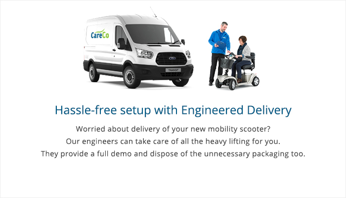 Engineered Delivery for Mobility Scooter