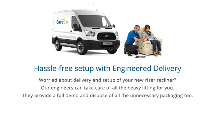 Engineered Delivery for Riser Recliners