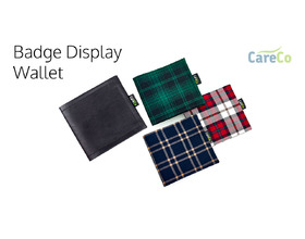 Blue Badge Display Wallet