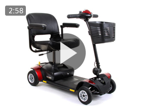 Pride Go Go Elite Traveller 4 Travel Mobility Scooter