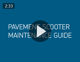 Pavement Scooter Maintenance Guide