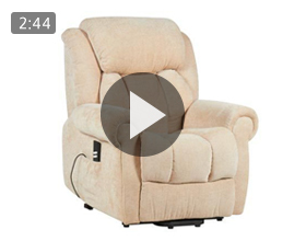 Cromwell Riser Recliner with Heat & Massage