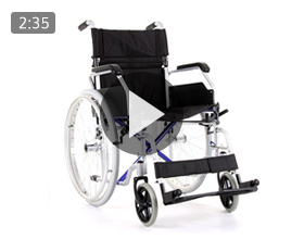 CareCo Aluminium AirGlide Wheelchair