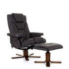 Boden Heat & Massage Swivel Recliner