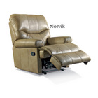 Norvik Leather Electric Recliner