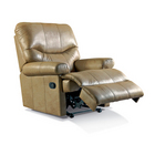 Norvik Leather Manual Recliner