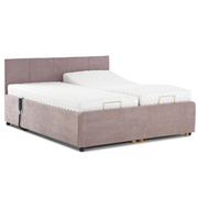 6ft Kingston Electric Bed with Headboard and Mattresses