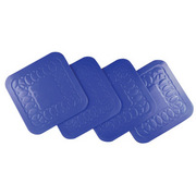 Anti Slip Rubber Square Coaster
