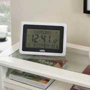 Clear Display LCD Clock