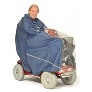 Navy Scooter Cape