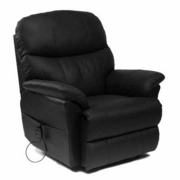 Lars Luxury Leather Riser Recliner Chair (Dual)