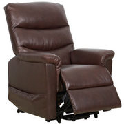 Kenmure Leather Heat and Massage Riser Recliner Chair