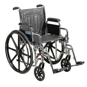 Bariatric Sentra EC Self Propelled Wheelchair