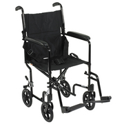 Aluminium Travel Chair Transit Wheelchair
