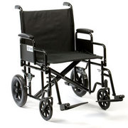 Bariatric Steel Transport Chair Transit Wheelchair