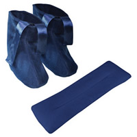 Microwavable Slippers and Neck Warmer Set