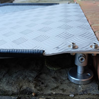 4 ft Adjustable Threshold Ramp