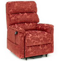 Cromwell Riser Recliner Heat & Massage Fabric Armchair | CareCo