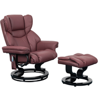 Trento Heat and Massage Swivel Recliner