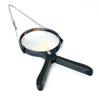 2 Way Hands Free Magnifier with Light