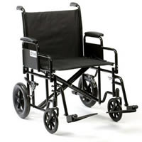 Bariatric Steel Transport Chair TR