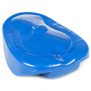 Discreet Bed Pan with Lid