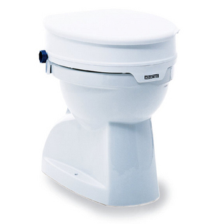 White Aquatec 90 Toilet Seat