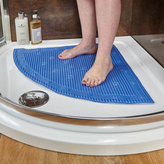 StaySafe Corner Shower Mat