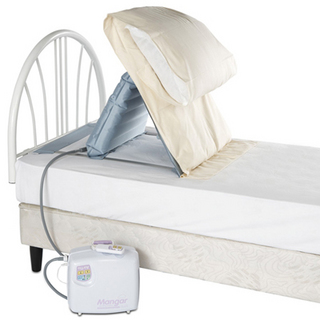 Sit u up pillow lift pillow lifts bedroom aids beds aid for Beds that sit up