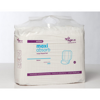 Age UK Maxi Absorb Large Shaped Pads