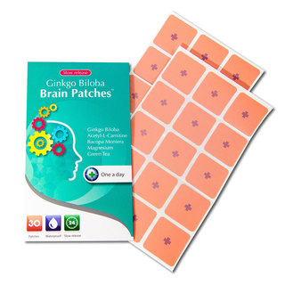 Ginkgo Biloba Brain Patches (30 Patches)