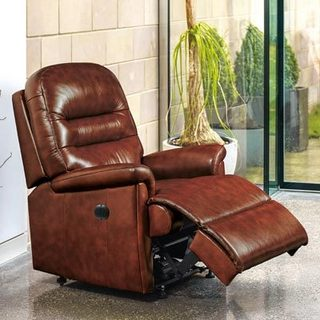 Keswick Leather Manual Recliner