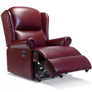 Malvern Leather Manual Recliner