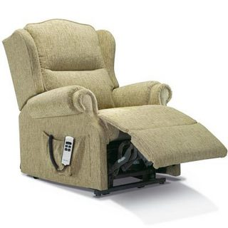 Claremont Fabric Manual Recliner