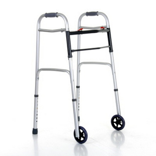 Zimma Folding Walker with Wheels