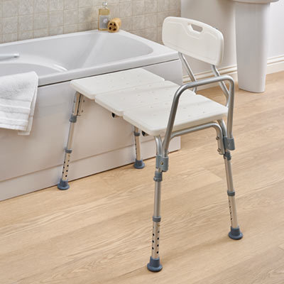 Bath Transfer Bench mobility friendly