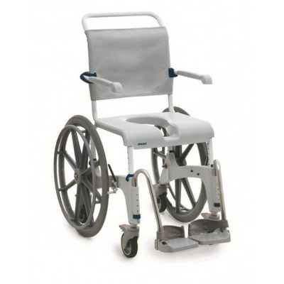 Aquatec Ocean 24in Wheels Shower Chair