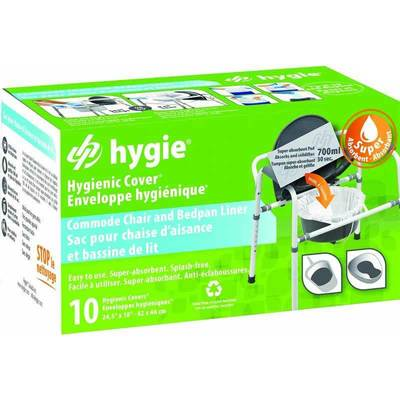 Hygie Commode Chair & Bedpan Liner