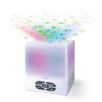 Star Projector Cube with Mix of Lullaby and Nature Sounds