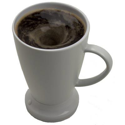 Self-Stirring Melamine Mug tea and coffee
