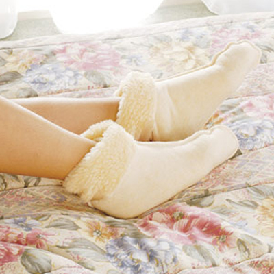 Bed Socks (synthetic fleece)