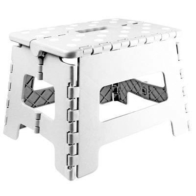 Folding Step Stool spring cleaning