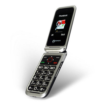 CL8500BT Talking Clamshell Mobile Phone