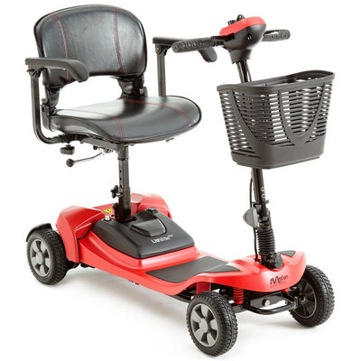 Lithilite Pro red mobility scooter