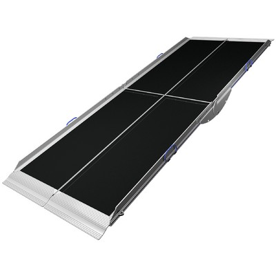 9 ft Lifestyle Wheelchair Ramp - 2 Piece Single Fold