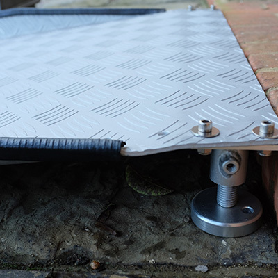 6ft Adjustable Threshold Ramp