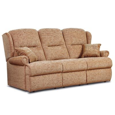Malvern Fabric 3-Seater Sofa