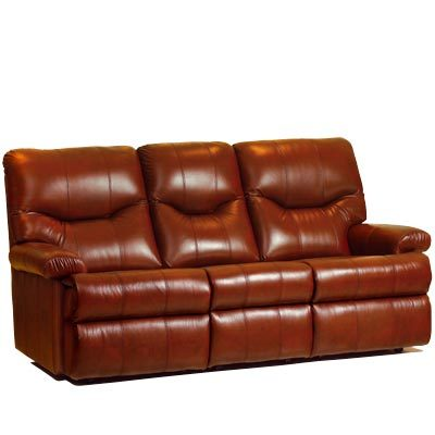 Norvik Leather 3-Seater Sofa